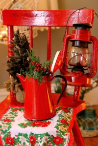 red christmas kitchen decorations