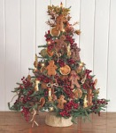 Gingerbread tree christmas decorations